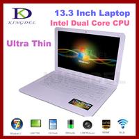 "2014 New 13.3"" Ultrabook Laptop with Intel Atom D2500 Dual Core 1.86Ghz, 2GB RAM, 500GB HDD, Windows 7, WIFI, Webcam, HDMI"