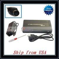 """Free Shipping + Wholesale 3.5"""" Black USB 2.0 SATA HDD HD Hard Drive Enclosure Case Ship from USA-NTS04BL"""