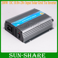 DHL free shipping! 200W grid tie power inverters for home use AC 110V ,AC 230V