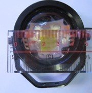 Eagle-eye light 30W/pcs Diameter 50mm super bright  LED Rascal lamp DIY DRL fog lamps backing light free shipping