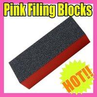 50 Pcs/Lot 3 way Buffing Sanding Files Block Pedicure Manicure Care Nail Art Buffe