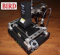 BIRD 777 BGA DIR PCB Repair Reflow Station Reballing 21 Stencils 218 Nets Balls