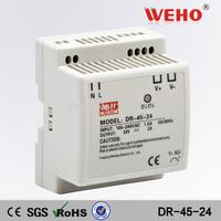 (DR-45-24) ac dc power converter 24V 45W Din rail Switching power supply 45W 24V industrial din rail power supply