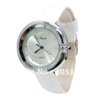 71013 New brand Japan movt Women's Lady's Girls' Fashion Diamond Wristwatches 2012 Top sell quartz Watch Leather band