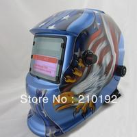 Hot  Li battery +Solar power auto darken weld mask/helmet/filter for the TIG MMA MIG KR welding machine and  plasma cutter