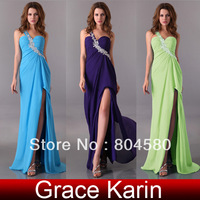 Freeshipping 2012 One shoulder Formal 8 Sizes Prom Wedding Bridesmaids Party dresses CL3183