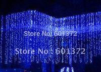 free shipping 8*4M 1024pcs LEDs 220V/110 LED curtain light Christmas/wedding/party/hotel decoration LED string light