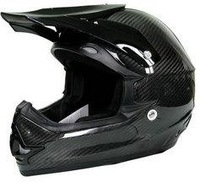 100% Carbon Fiber Off Road Helmet,Motorcross Racing Helmet  free shipping CARBON-CROSS