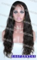 "22.5"" cap Top best quality 100% Brazilian Virgin Hair 22 inch Black full lace wigs"
