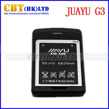 100% Original Charger+Battery for JUAYU G3 Smart Phone freeshipping