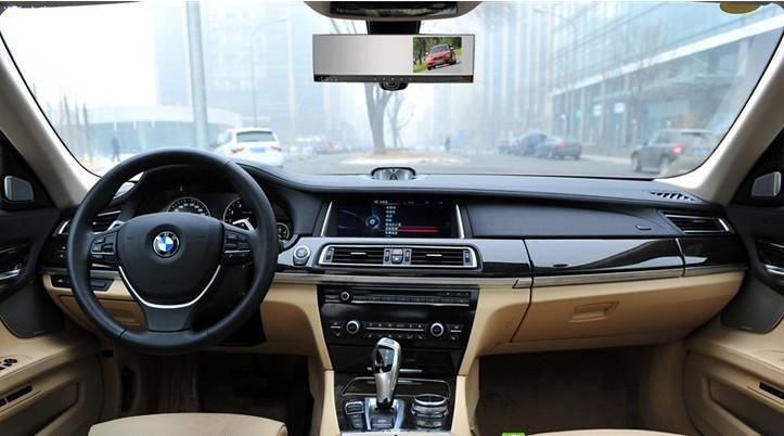 "HD Car DVR Recorder camera inside mirror with 4.3"" TFT Monitor(China (Mainland))"