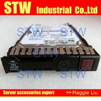 """652564-B21 300GB 2.5"""" 10K 6GB SAS SC HDD,for dl380e Gen8, dl360p gen8,dl388 Gen8, ML350 Gen8 Proliant Server, 3 year warranty"""