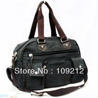 Free Shipping 1pcs/Lot 2 Colors PJ Vintage Military Canvas Shoulder Messenger Bags Men BG166