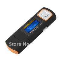 Free Shipping!!! 8GB MP3 Player USB Flash Driver Design FM+Ebook+Voice Recorder