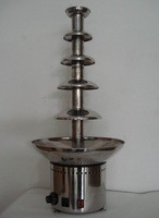 Commercial chocolate fountains with high stainless steel and motor,1years warranty and perfect design,free shipping