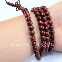 Wholesale Free Shipping for Sandalwood Beads Buddhist 4/6/8mm x 108 Prayer Bracelet Necklace Mala Buddha