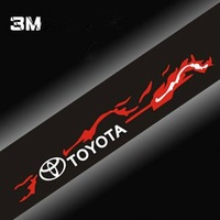Free shipping/Car Sticker/TOYOTA  front windshield stickers/Wholesale + Retail
