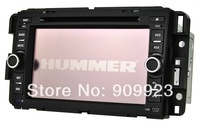 Free shipping+Car dvd for HUMMER H2 with DVD,GPS,Bluetooth,RDS,IPOD,USB,all functions+map gift