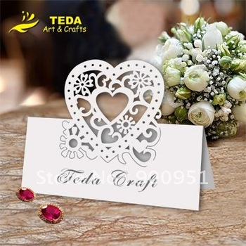 wedding place name table card