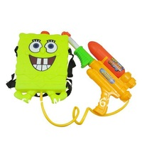Free Shipping  cute water gun beach toy children backpack water gun