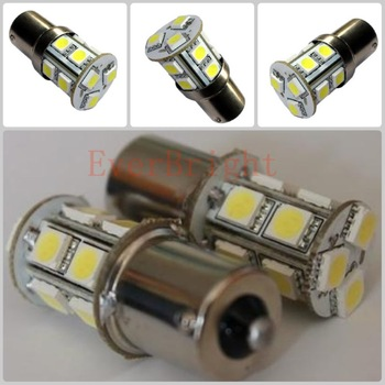 10 Pcs 5050 13SMD Car Turn Lamp 1156 BA15S Brake Tail Parking Signal Light