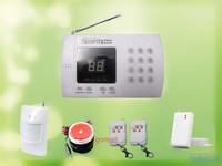 New Wireless PIR Home Security Burglar Alarm System Auto Dialing Dialer Easy DIY S228