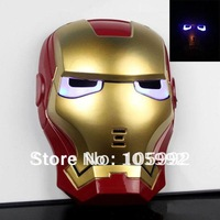 Blue LED Eyes Halloween Make Up Toy For Kids Boys High quality theme mask FREE SHIPPING