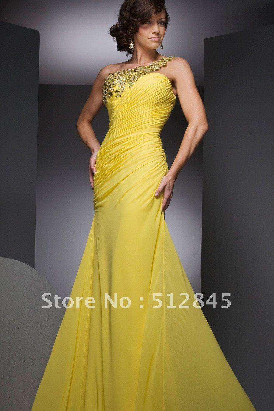 Yellow Dresses For Weddings Photo Album - Weddings Pro