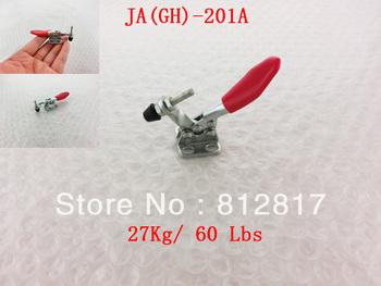 27Kg 60 Lbs 201A Fixed Bar Flange Base Horizontal Toggle Clamp