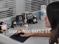 2 pieces / lot  Novelty  Awesome Retro Number Flip Clock