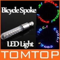 Bike Bicycle Light Motorcycle Tire Spoke Wheel Valve Flash LED Lamp Neon Flashlight Freeshipping Dropshipping Wholesale