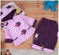 Free shipping Baby Dresses/female treasure suit/coat/cute Strawberry Bunny baby suits