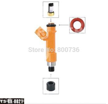 free shipping!!200sets/box Top Feed MPI injector repair kits fuel injector components TS-rk-0021