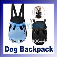Nylon Pet Dog Carrier Legs Out Front Style Backpack Net Bag-Any 2Colors Free Shipping