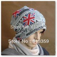 Men Women Beanie cap Winter ski hat cotton skull cap unisex Fashion Letter fleece  New Free shipping