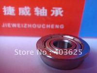 10pcs  F6801zz 12mm*21mm*5mm  Miniature flange bearing  Toy car bearing