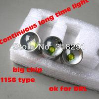 50pcs/lot  Ba15s  T20 1156   5w High power Led Car Reverse lights DRL low price