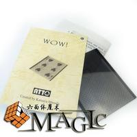 WOW Sleeve by Katsuya Masuda   /close-up card magic trick / wholesale