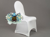 Sample order for spandex chair cover, wedding chair cover!!