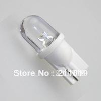 Free Shipping 50pcs T10 1 LED W5W 168 194 192 Bulbs White Car Auto Dome Light