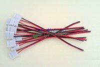20PCS connector wires for led strip flexible light 5050 10mm width single colour wholesale