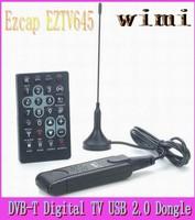 Ezcap EZTV645 DVB-T Digital TV USB 2.0 Dongle with FM/DAB/Remote Controller