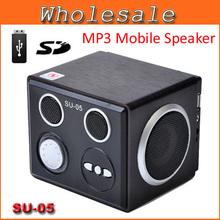 $15 off per $150 order Mini Sound box Boombox MP3 Mobile Speaker SD Card Reader USB SU05 – Sample free shipping