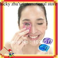 Free EMS Shipping/Wholesale Lots Of 720 New Mini Portable Curling Eye Lashes Eyelash Curler Tools Manual