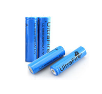 4x 3.7V 18650 Battery 3000mAh UltraFire Rechargeable Battery Free shipping
