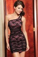 Crazy Promotion! Sexy Club wear, Fashion one-shoulder Dress, One size, 2498p