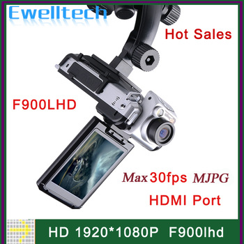 "Real HD 1920 * 1080P F900LHD Car Camera Car Black Box 12MP 30fps Car DVR Video Recorder with 4x Zoom 2.5"" Screen"