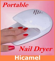 ND001 2013 New Arrival Professional&Portable Nail Dryer Set for Finger Nail& Toe Nail White Color Finish Time 3 min