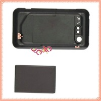 Free Shipping+ Wholesale& Retail 3500 mAh Extended Battery With Battery Cover For HTC S710 INCREDIBLE S/2  Black 82005513