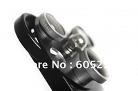 New Arrival 3 in 1 Lens Dial for iPhone 4/4S Dial TurtleJacket Dial Lens Wide Angle Fisheye Telephoto Lens